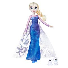 Disney's Frozen Northern Lights Elsa Doll & Snowgies Figure Set by