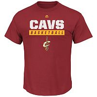 Big & Tall Majestic Cleveland Cavaliers Team Color Tee