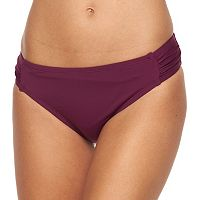 Women's Apt. 9® Shirred-Side Scoop Bottoms