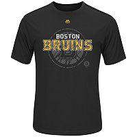 Big & Tall Majestic Boston Bruins Logo Tee