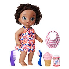 Baby Alive Magical Scoops Dark Hair Baby Doll by