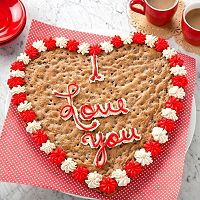 Mrs. Fields I Love You Valentine's Day Cookie Cake