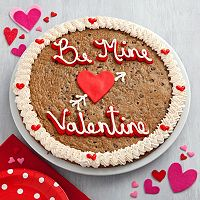 Mrs. Fields Be Mine Valentine's Day Cookie Cake