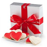 Mrs. Fields Silver Elegance Valentine's Day Cookie Gift Box