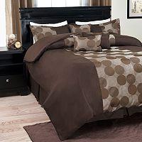 Portsmouth Home 7-piece Circles Comforter Set