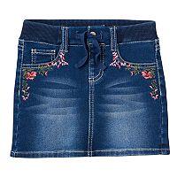 Girls 4-12 SONOMA Goods for Life™ Embroidered Skort