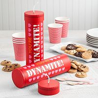 Mrs. Fields Dynamite Stick Valentine's Day Nibblers Cookie Gift Box