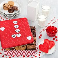 Mrs. Fields Be Mine Valentine's Day Combo Cookie Tin