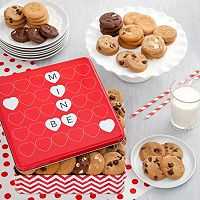 Mrs. Fields Be Mine Valentine's Day Nibblers Cookie Tin