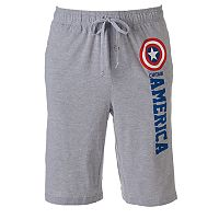 Men's Marvel Captain America Lounge Shorts