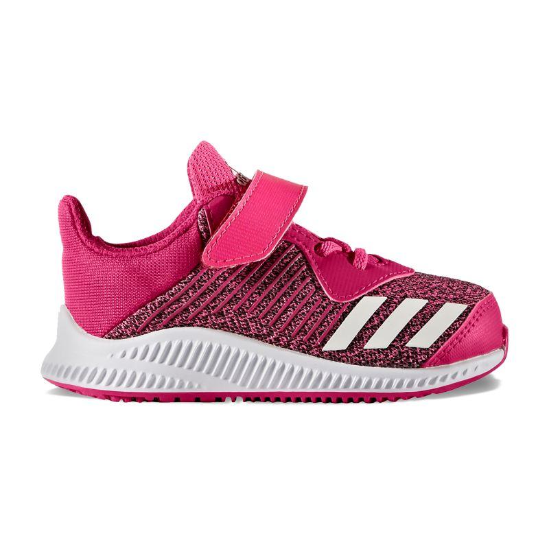Adidas Forta Run EL Toddler Girls' Running Shoes, Size: 5 T, Brt Pink thumbnail