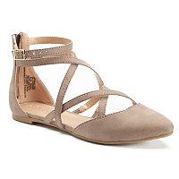 LC Lauren Conrad Glow Women's Pointed-Toe Flats