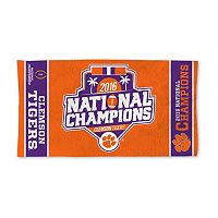 Clemson Tigers 2016 College Football Playoff National Champions Locker Room Towel