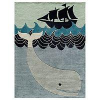 Momeni Lil Mo Whimsy Whale Rug