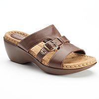 Croft & Barrow® Patzi Women's Wedge Sandals