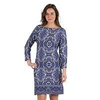 Women's Larry Levine Printed Shift Dress