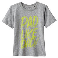 Toddler Boy Jumping Beans® Short Sleeve Text Graphic Tee