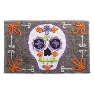 Celebrate Together Sugar Skull Rug