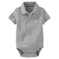 Baby Boy Carter's Pique Polo Bodysuit