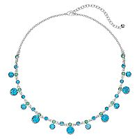 Napier Shaky Simulated Crystal Necklace