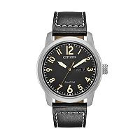 Citizen Eco-Drive Men's Chandler Leather Watch - BM8471-01E