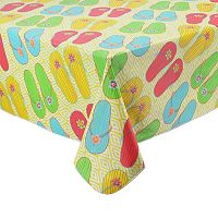 Celebrate Summer Together Flip-Flop Tablecloth