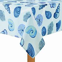 Celebrate Summer Together Seashells Tablecloth