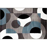 World Rug Gallery Alpine Modern Circles Rug