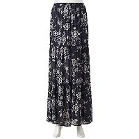 Juniors' Joe B Tiered Maxi Skirt