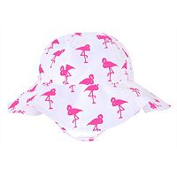 Baby Girl Jumping Beans® Flamingo Sun Hat