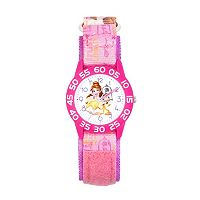 Disney's Beauty and the Beast Belle & Lumiere Kids' Time Teacher Watch