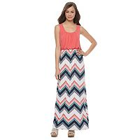 Juniors' Trixxi Tank Maxi Dress