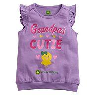 Toddler Girl John Deere Grandparent Graphic Tee