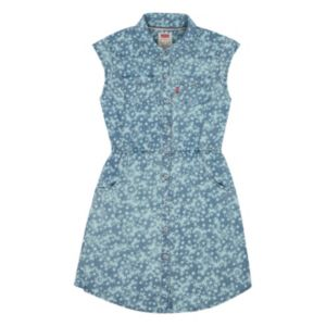 Girls 7-16 Levi's Short Sleeve Woven Denim Dress