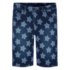 Girls 7-16 Levi's Supersoft Star Jean Bermuda Shorts