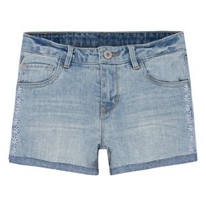 Girls 7-16 Levi's Embroiderd Shorty Jean Shorty
