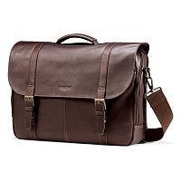 Samsonite Colombian Leather Flapover Laptop Case
