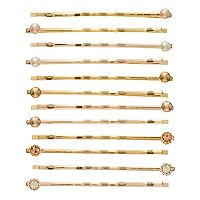LC Lauren Conrad 12-pc. Studded Bobby Pin Set