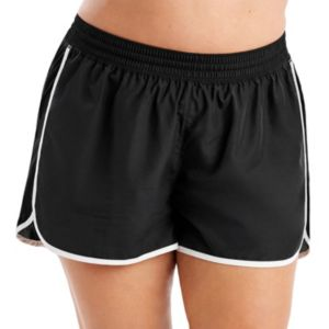 Plus Size Just My Size Mesh Side Running Shorts