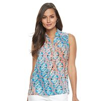 Women's Dana Buchman Smocked Top