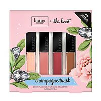 butter LONDON Champagne Toast 4-pc. Plush Rush Lip Gloss Collection