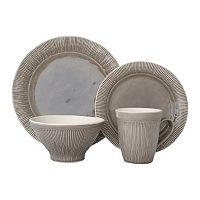 Sango Chromatic Gray 16-pc. Dinnerware Set