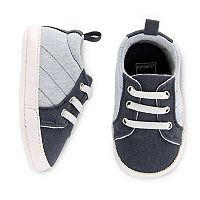 Baby Boy Carter's Slip-On Quilted Crib Shoes