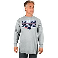 Men's Majestic New England Patriots Super Bowl LI Champs Long-Sleeve Tee