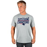 Men's Majestic New England Patriots Super Bowl LI Champs Tee