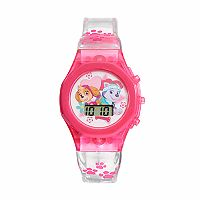 Paw Patrol Skye & Everest Kids' Digital Light-Up Watch
