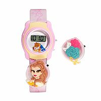 Disney's Beauty & The Beast Belle Kids' Digital Charm Watch