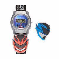 Power Rangers Kids' Digital Charm Watch