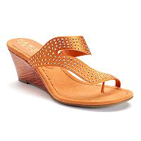 New York Transit Going Place Women's Wedge Sandals