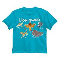 Disney's The Lion Guard Kion, Beshte & Ono Boys 4-7 Group Tee